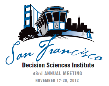 2012 annual meeting of the decision sciences institute proceedings 2012 annual meeting of the decision sciences institute proceedings fandeluxe Images